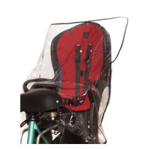 Rain cover for bicycle child seat