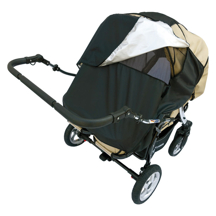 Universal Sun Shade For Prams Quot Hannah Duo Quot With Window For