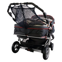 Shopping net for twin pram